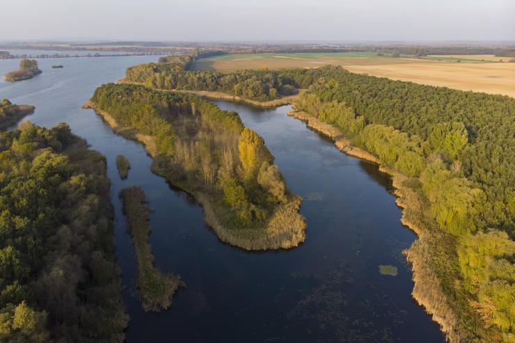 A Kányavári-sziget / Fotó : MTI-Varga György
