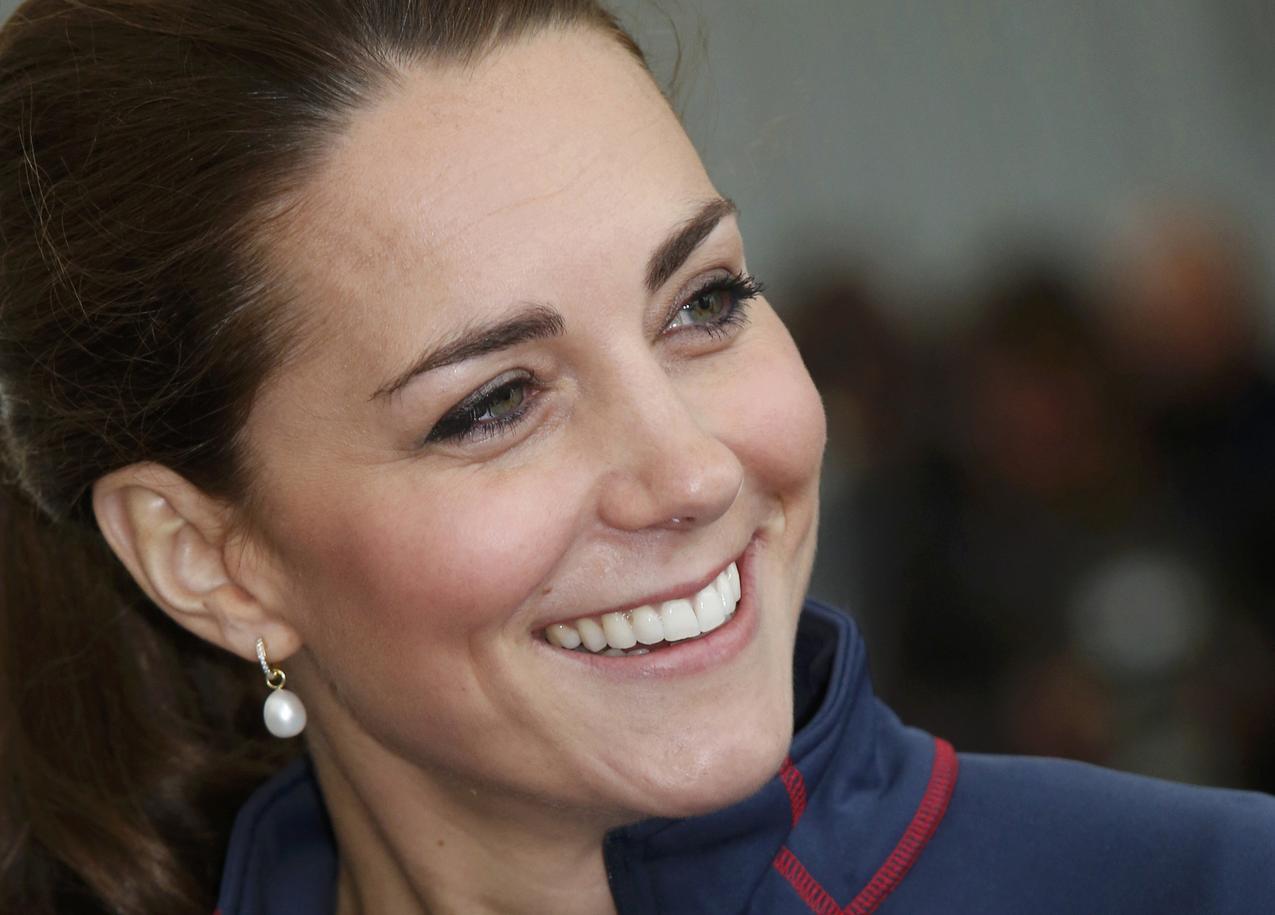 Księżna Kate ścięła grzywkę