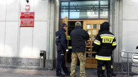 Alarm w sądzie w centrum Warszawy. Przyszła koperta z białym proszkiem