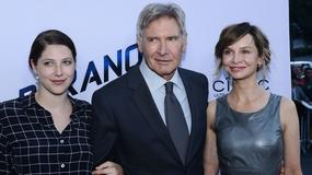 "Harrison Ford i Calista Flockhart na premierze filmu ""Paranoja"""