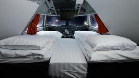 Nietypowy hostel w Sztokholmie, przerobili stary samolot