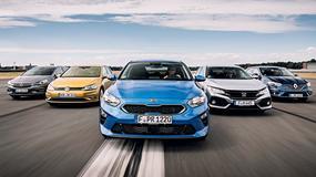 Kia Ceed kontra Renault Megane,Honda Civic,Volkswagen Golf i Opel Astra - który model będzie lepszym wyborem?