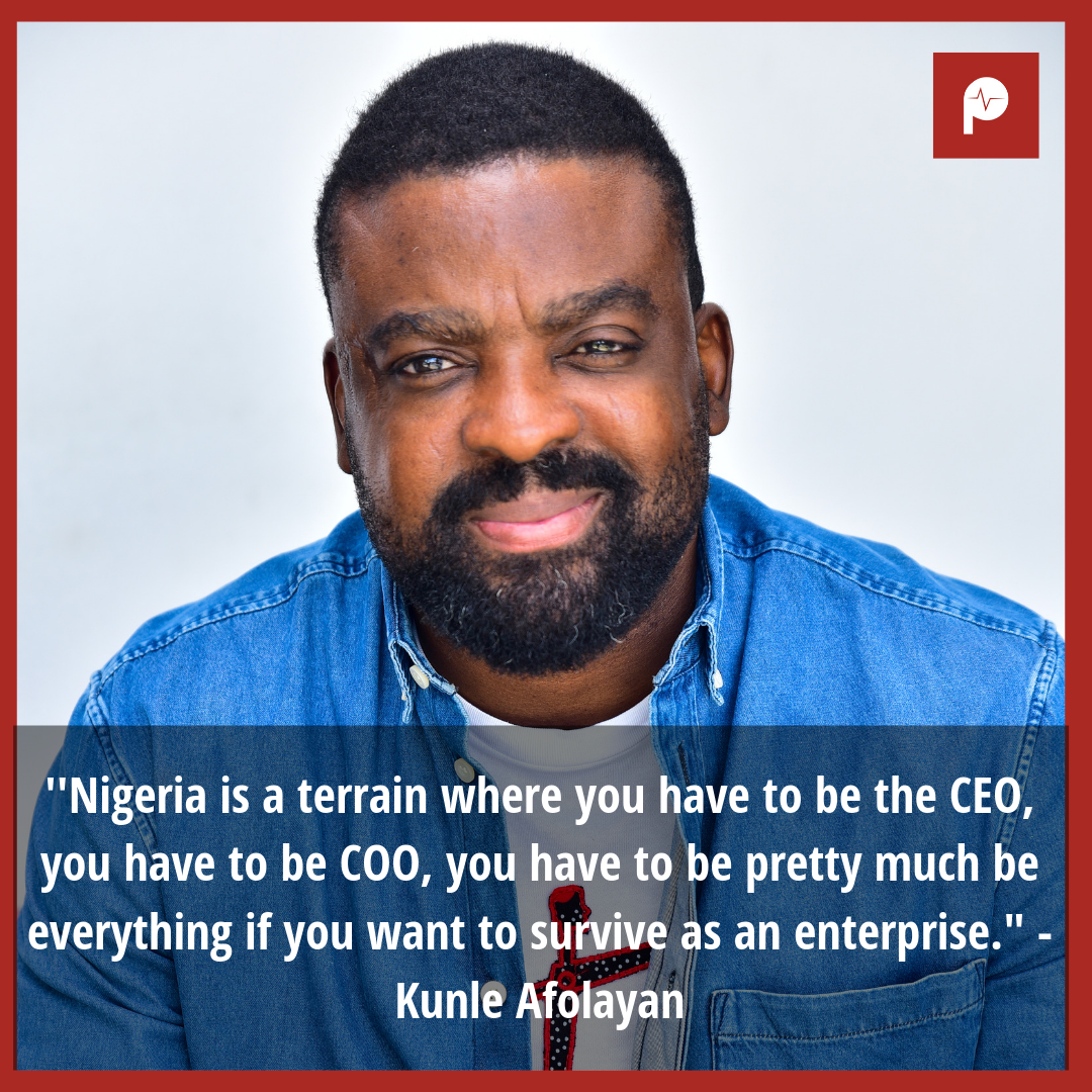 Kunle Afolayan is one of the finest filmmakers in Nollywood, who keeps striving hard to always set the pace. [Pulse]