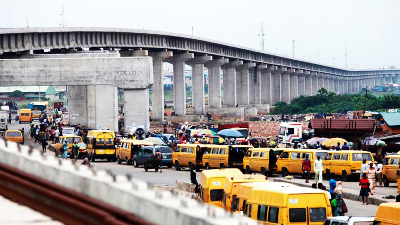The Lagos rail project at Orile, Lagos (Guardian)