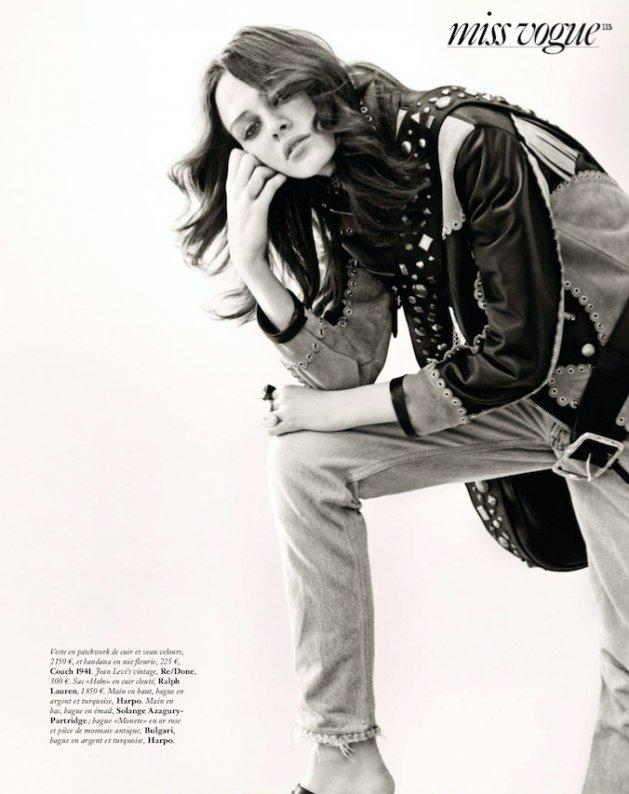 "Mag Cysewska w ""Vogue"" Paris"