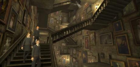"Screen z gry ""Harry Potter i Zakon Feniksa (wersja na PSP)"""