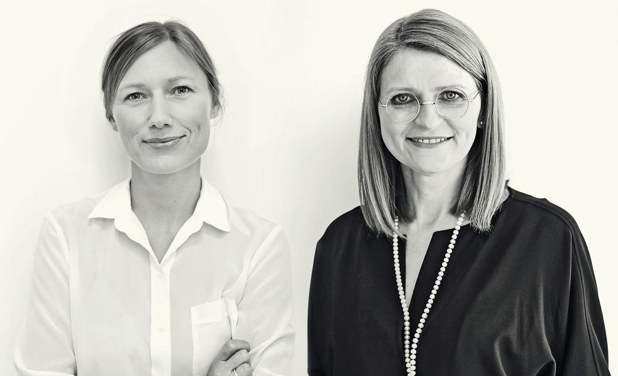 Agata Tanter i dr Irena Kamińska-Radomska / fot. Kate Jablonska i Marta Waglewska