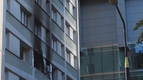 Warszawa: Pożar wieżowca w centrum. Zobacz zdjęcia