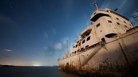 Opuszczony okręt wojenny