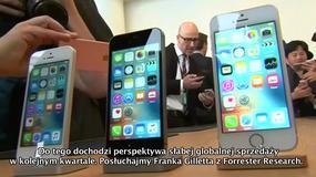 Apple - pierwszy spadek przychodów i sprzedaży iPhone'ów od dekady