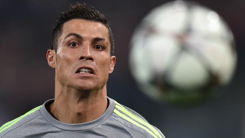 Cristiano Ronaldónak nem kellett erőlködnie az újabb millióért /Fotó: AFP