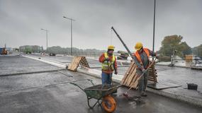 Most Łazienkowski: zobacz najnowsze zdjęcia z placu budowy
