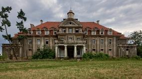 Opuszczony pałac w Bełczu Wielkim (Oderbeltsch) na Dolnym Śląsku