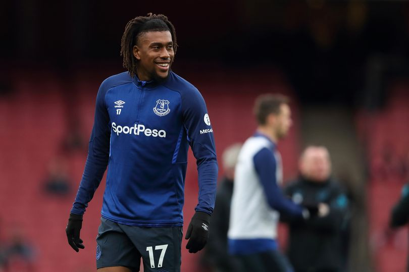 Alex Iwobi didn't do badly in his debut season at Everton but he was still underwhelming (James Williamson - AMA/Getty Images)