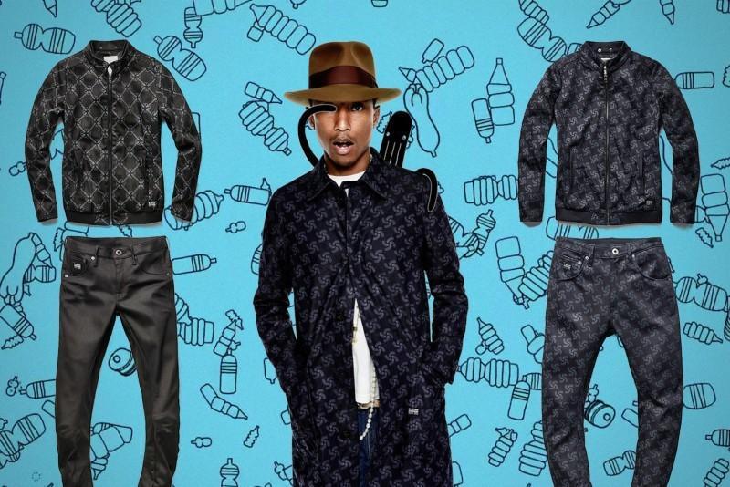 Kampania kolekcji Pharrella Williamsa dla G-Star
