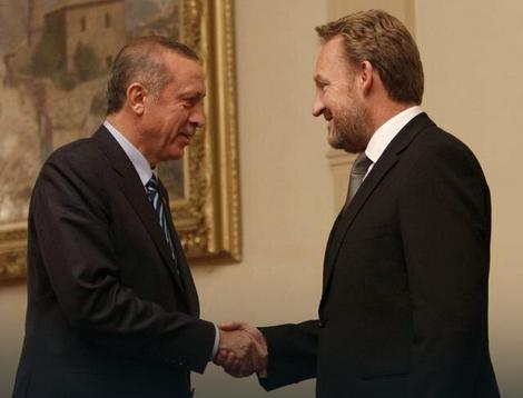 Redžep Tajip Erdogan i Bakir Izetbegović