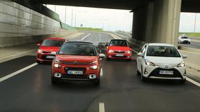 Który miejski samochód warto kupić? Kia Rio kontra Citroen C3, Skoda Fabia i Toyota Yaris