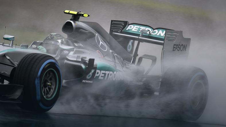 Nico Rosberg podczas treningu przed GP Japonii