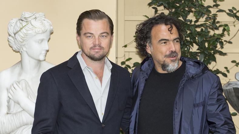 Leonardo DiCaprio, a Visszatérő főszereplője és a rendező, Alejandro González Inárritu /Fotó: AFP