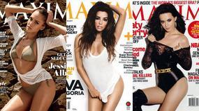 """Najseksowniejsze kobiety ostatnich 15 lat według magazynu """"Maxim"""""""
