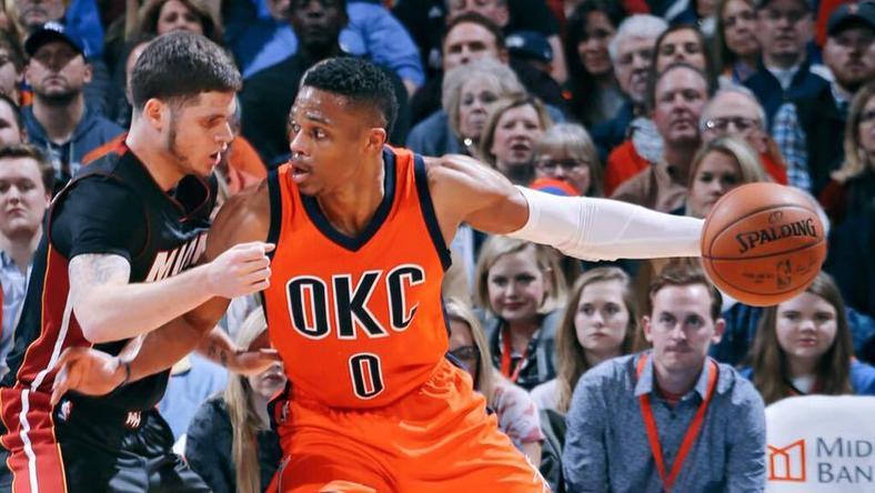 Westbrook pályafutása 24. tripla-dupláját érte el /Fotó: Facebook/Oklahoma City Thunder