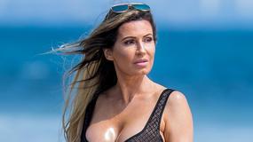 Ana Braga w seksownym kostiumie kąpielowym
