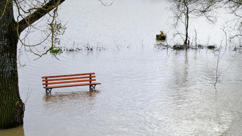 A nagy esőzésék miatt több folyó megáradt /Fotó: Northfoto - illusztráció