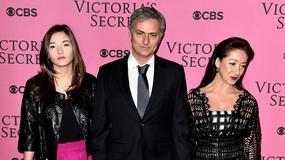 Jose Mourinho z żoną i córką na pokazie Victoria's Secret