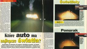 Które auto ma najlepsze światła? Test z archiwum Auto Świata