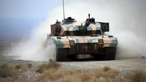 Chiński pokaz mocy - ćwiczenia czołgistów w prowincji Gansu