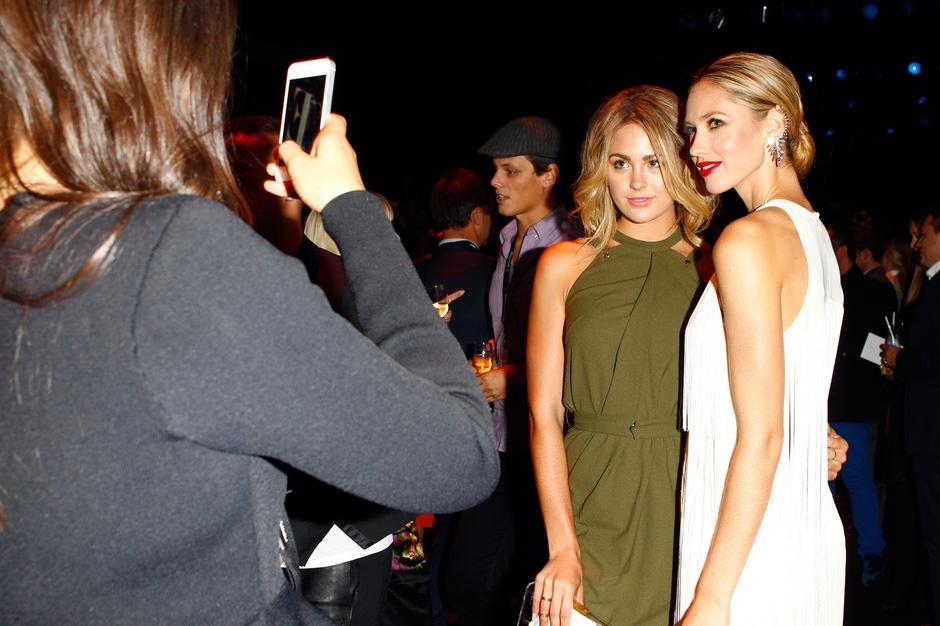 Jesinta Campbell; Nikki Phillips / Getty Images