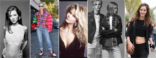 Nowe-stare fascynacje, czyli wracamy do przeszłości. Moda lat 90.