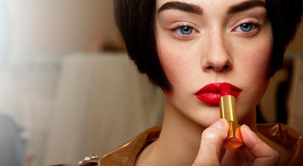 Makijaż haute couture według Chanel