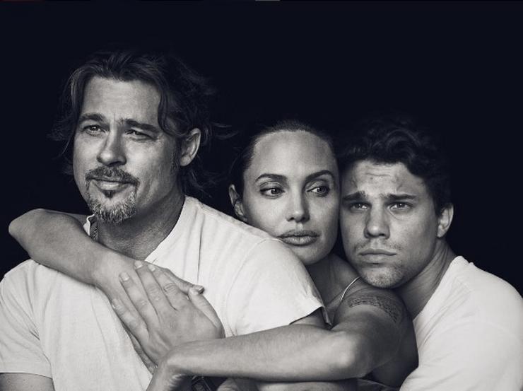 Angelina Jolie és Brad Pitt mellett szép az élet/ Fotó: Instagram