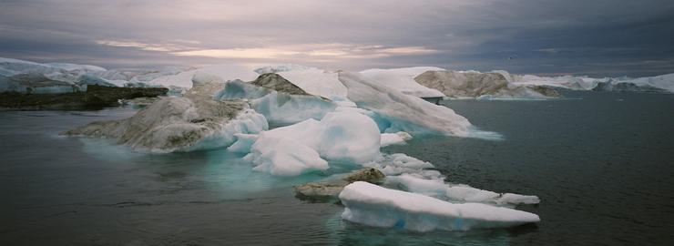 A sarkok jégtáblái elképesztő méretben fogynak / Fotó: EUROPRESS-GETTYIMAGES