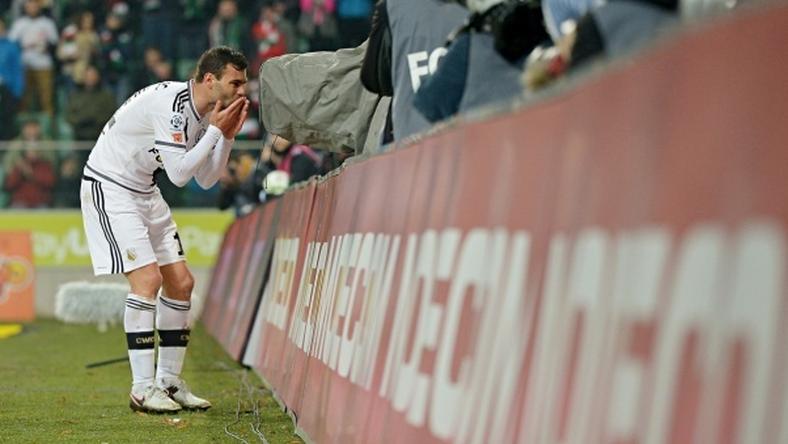Nikolics elköszön a Legiától?/Fotó: legia.com