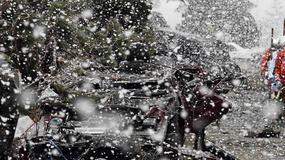 Trzęsienie ziemi, tsunami, a teraz śnieg....