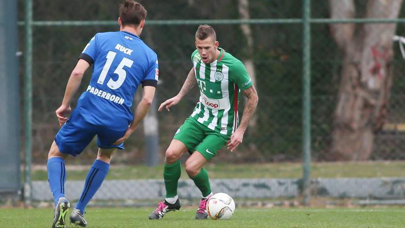 Varga Roland mindkét beleki felkészülési meccsen lehetőséget kapott/ Fotó: Fradi.hu