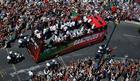 ŠAMPIONSKA POVORKA Ronalda zadivila atmosfera na ulicama Lisabona /FOTO/ /VIDEO/