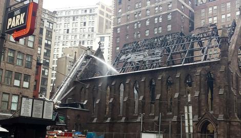 Naši ljudi u Njujorku: Od prelepog hrama ostali su nam samo GOLI ZIDOVI I USPOMENE