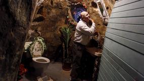 Przez 12 lat kopał tunele w skałach. Stworzył podziemną twierdzę