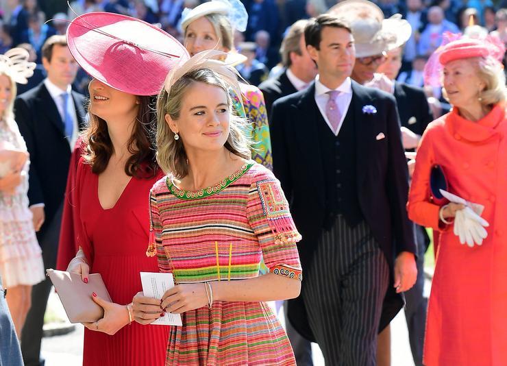 Cressida Bonas igazán bájosan öltözött fel  /Fotó: AFP