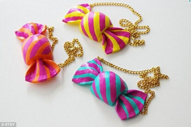 Biżuteria i dodatki jak słodycze