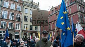 Wiec Jedności Europejskiej w Gdańsku. Prezydent Karnowski: chcą nam zafundować system podobny do Łukaszenki