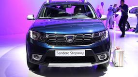 Dacia Sandero po face liftingu (Targi Paryż 2016)