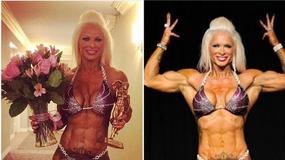 Kulturystka dumnie prezentuje swoje ciało