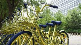 W Chinach wypożyczysz złote rowery miejskie