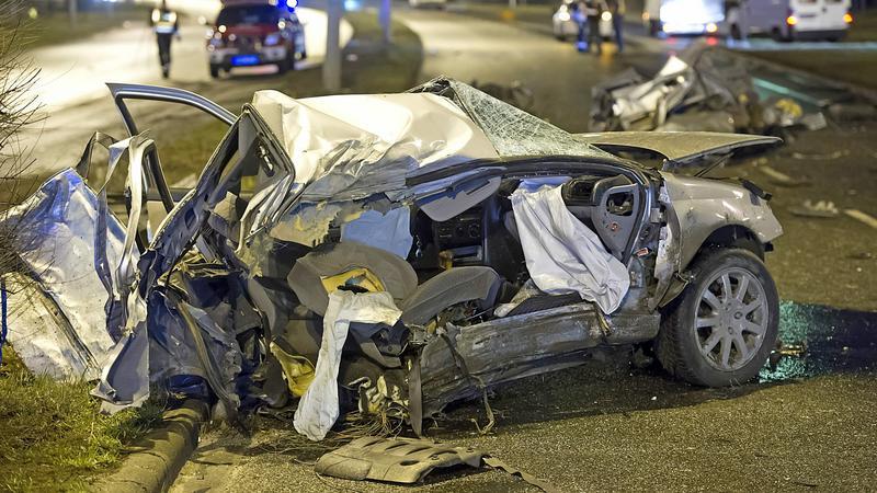 baleset - Fotó: MTI Lakatos Péter
