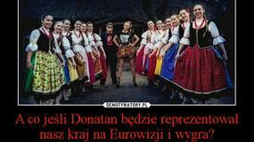 Eurowizja: Donatan i Cleo reprezentowali Polskę. Zobaczcie najlepsze memy