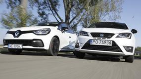Seat Ibiza Cupra kontra Renault Clio R.S.: Maluchy na sportowo